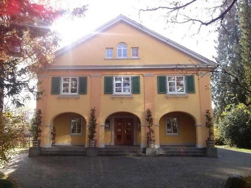 Die BUND Geschäftsstelle im Palmenhauspark in Konstanz